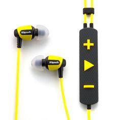 Rugged headphones by Klipsch