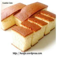 Let's Try A Japanese Honey Sponge Cake–Castella or Kasutera (カステラ, 长崎蛋糕)