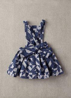 Nellystella Ella Dress in Woven Geo - N15F012 - PRE-ORDER