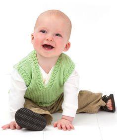 "Knitting - Free Pattern: ""Vested Baby Boy"" - Level: easy,"