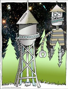 watertower robot from space2