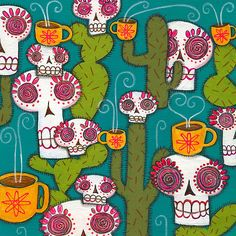 Skulls, Cacti and Atomic Coffee