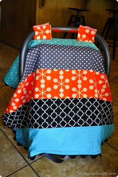 Baby Boy Car Seat Canopy Instructions