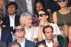 Judy Loe and Kate Beckinsale attend Men's Finals Day of the Wimbledon Tennis Championships at All England Lawn Tennis and Croquet Club on July Kate Beckinsale Pictures, Stock Pictures, Stock Photos, Wimbledon Tennis, Lawn Tennis, Bbc Broadcast, Image Collection, Filmmaking, Royalty Free Photos