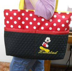 Hey, I found this really awesome Etsy listing at http://www.etsy.com/listing/104487919/mickey-mouse-extra-large-tote-bag-red