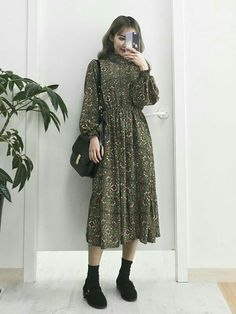 new style clothes Modest Outfits, Modest Fashion, Dress Outfits, Girl Fashion, Casual Outfits, Fashion Dresses, Dress Up, Fashion Design, Fashion Trends