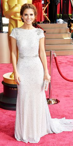 Oscars 2014 Red Carpet Arrivals - Maria Menounos from #InStyle