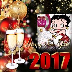 betty boop new year cards new year ecards happy 2017 betty boop template