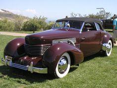 1937 Cord 812 S/C Phaeton Car Wheels, Auburn, Antique Cars, Cord, Classic Cars, Automobile, Trucks, Awesome, Vehicles