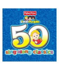 Another great find on #zulily! 50 Sing-Along Classics Two-Disc CD Set #zulilyfinds