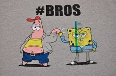 Nickelodeon Spongebob Squarepants #Bros T-Shirt Size 2XL XXL New with Tags  #Nickelodeon #GraphicTee