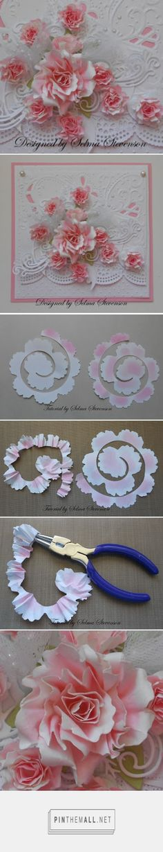 Selma's Stamping Corner and Floral Designs: Two Tone Rose Tutorial