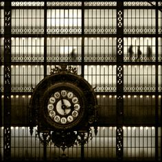 And every stop is neatly planned for a poet and a one man band...- Musee d'Orsay, Paris