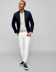 1 Suit, 5 Ways - The Lighten Up for Spring Look from JCrew.com