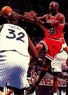 MJ vs Shaq