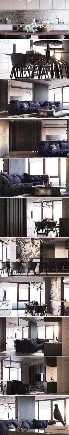 «True apartments .v2» - Галерея 3ddd.ru