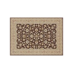 Loloi Welbourne Floral Rug, Brown, Durable