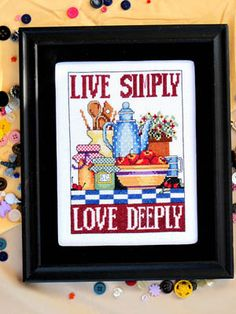 click here to view larger image of Love Simply Love Deeply (chart)
