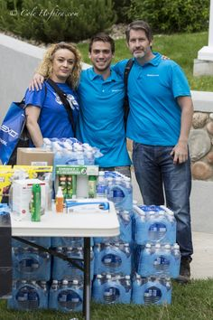 Cole Hofstra captures Calgary flood clean up - important supplies in a city now teaming with extra swarms of mosquitoes and compromised drinking water...