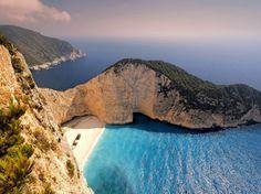 SHIPWRECK BAY- Zakynthos, Greece