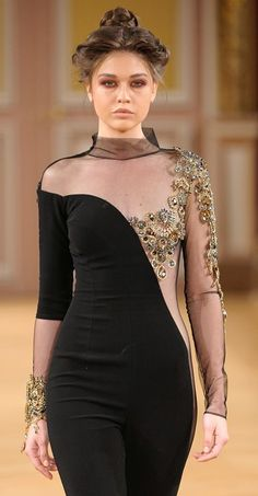Diamonds Forever: Fall-Winter 2014 Couture Collection by TonyYaacoub