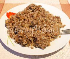 Гречневая каша с мясом в мультиварке