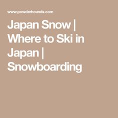 Can't decide where to ski in Japan? See our info that compares the Japan snowboarding destinations, ski resorts, the Japan snow, and where off-piste, tree skiing and backcountry skiing in Japan are permitted. Snowboarding In Japan, Skiing In Japan, Japan Travel, Japan Trip, Ski Trips, Explore, Exploring