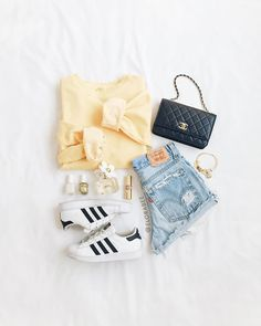 Summer camping outfits for teens beauty 26 Ideas Casual School Outfits, Cute Comfy Outfits, Teenage Girl Outfits, Cute Casual Outfits, Cute Girl Outfits, Teen Fashion Outfits, Cute Summer Outfits, Outfits For Teens, Pretty Outfits