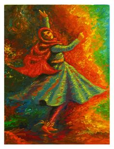 Happiness 2014 Series - 01 Kathak... Acrylic on canvas board 60x45 cm