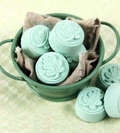Мятные бомбочки для ножных ванн