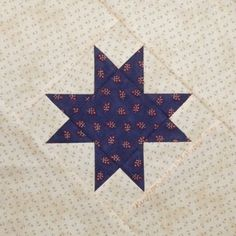 Red Rooster Quilts: Shop | Category: Patterns - Download for FREE | Product: Just One Star Downloadable Quilt Block Pattern