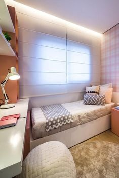 32 Elegant Girls Bedroom Ideas For Small Rooms, Decluttering your bedroom consists of visual decluttering also. When it has to do with coloring bedrooms, personal taste is easily the most important . Elegant Girls Bedroom, Bedroom Ideas For Teen Girls Small, Cute Girls Bedrooms, Teen Girl Rooms, Trendy Bedroom, Modern Bedroom, Bedroom Girls, Bedroom Ideas For Small Rooms Cozy, Teenage Bedrooms