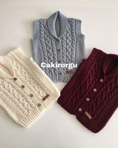 Baby Sweater Knitting Pattern, Baby Boy Knitting, Baby Knitting Patterns, Knitting Designs, Crochet Bebe, Baby Sweaters, Warm, Boys, Fashion