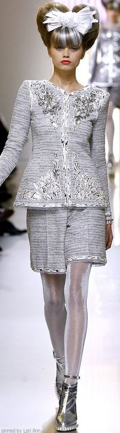 Chanel Couture Spring 2010 | The House of Beccaria~