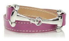 Dimacci Alba Exklusiv Leather Snaffle Bit Bracelet