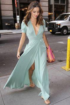 DIY low cut slit dress skirt inspo