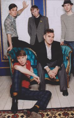 Morrissey Franz Ferdinand... randomness but I love the music of both ^_^