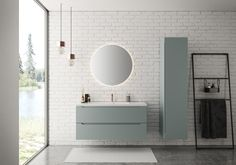 Linn Bad - Baderom frå Vik i Sogn - Lilly is Love Modern Bathroom Decor, Bathroom Styling, Bathroom Furniture, Corner Sink Bathroom, Small Bathroom, Bathrooms, Interior Blogs, Wall Colors, All Modern