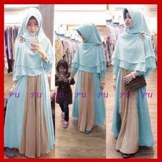Baju Muslim Syari Modern Cute