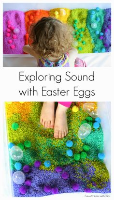 Exploring Sound with Homemade Egg Shakers from Fun at Home with Kids