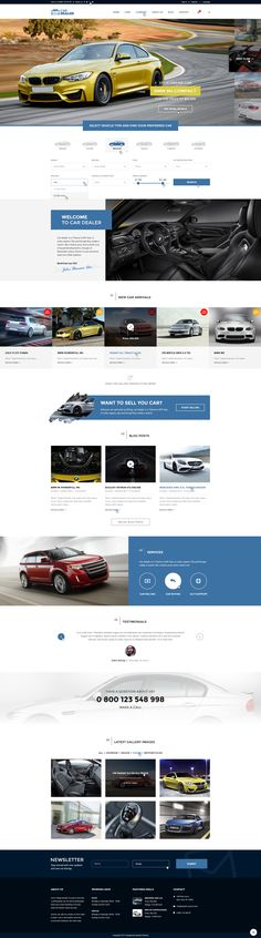 Car Dealer is an Professional PSD Template made specially for Auto and Car Dealer Businesses. It includes wide variety of options and editing. Cartrader is made on Bootstrap Grid 1170px, it is made...
