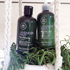 Want quenching hydration with a calming sensation? Try Lavender Mint Moisturizing Shampoo and Conditioner. #TeaTreeHairCare