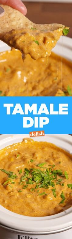 This hearty, tamale-inspired dip is perfect for a group.