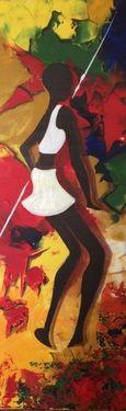"Saatchi Online Artist Eka Peradze; Painting, ""Eka Peradze.3D painting, 10% to help each other"" #art"
