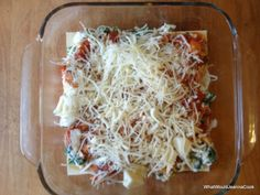 What Would Jeanna Cook: Four-Cheese Chicken Lasagna