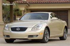 Gold Lexus Convertible - The car I drive right now and I love it.