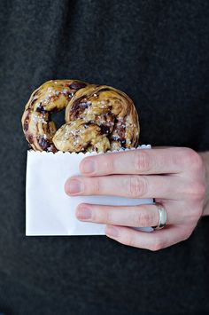 Chocolate Chip Brioche Pretzels by Courtney | Cook Like a Champion, via Flickr