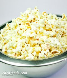 Popcorn - Unsalted #EdenFoods #recipe