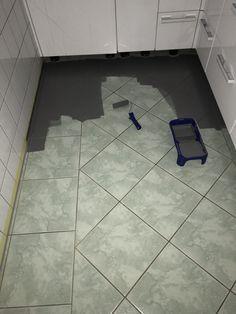 Fliesen Streichen Mit Kreidefarbe Misspompadour Diy Bathroom Paint Diy Chalk Paint Diy Furniture