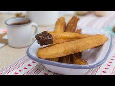 Vídeo-receta en un minuto: Churros con chocolate